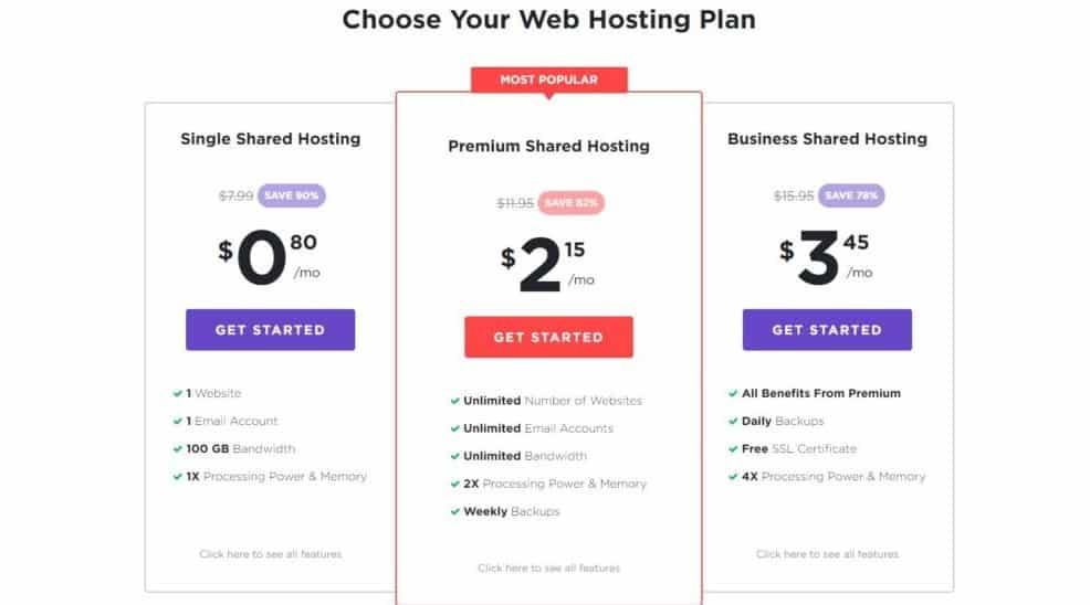 hostinger pricing review