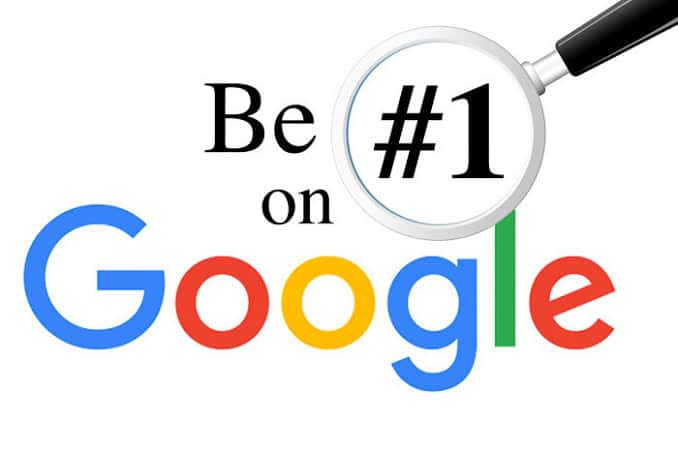 how to get on the top of google