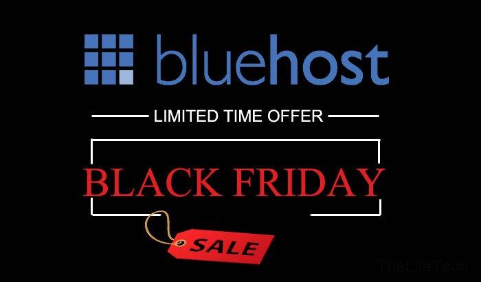 Bluehost black friday deals 2020