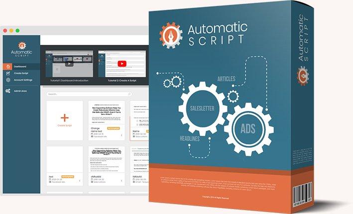 automatic script review & lifetime deal