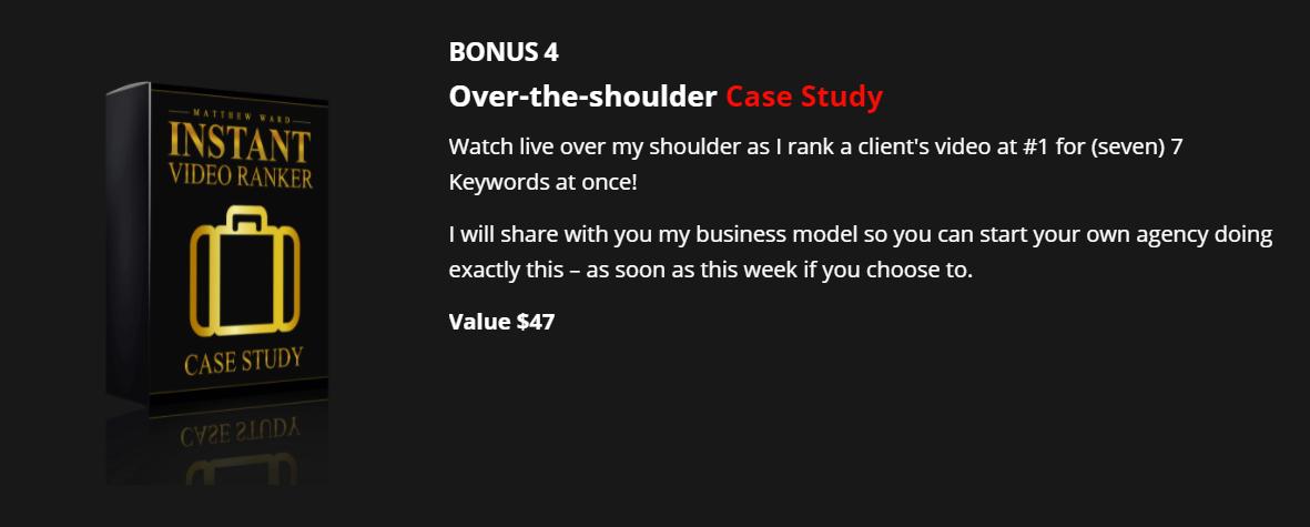 Instant Video Ranker Bonus 3