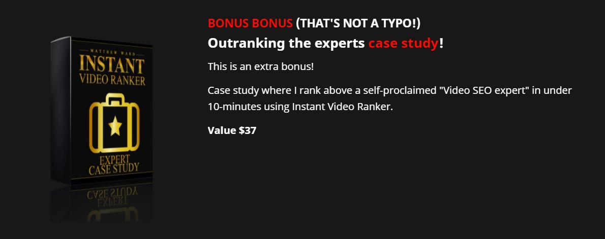 Instant Video Ranker Bonus 5