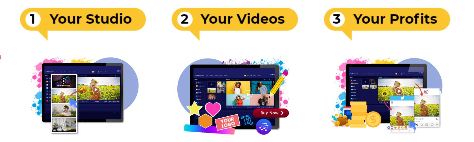VideoEnginePro steps